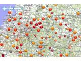 Bild: TomTom hat seine Online-Karten mit aktuellen Verkehrsinformationen dank HD Traffic überarbeitet.