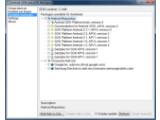 Bild: Über den Android SDK-Manager können Nutzer die Komponenten auswählen, die sie brauchen.