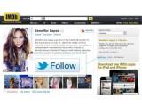 Bild: Über den Follow-Button kann der Nutzer nun Stars oder Firmen leichter auf Twitter folgen.