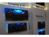 Bild: Überall Fernseher: Philips zeigt sein neues 3D-Lineup.