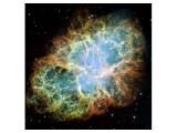 Bild: Unerwartet energiereiche Strahlung: Der Pulsar im Krebsnebel widerspricht bisherigen Modellen der Astrophysik.