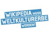 Bild: Unterstützer gesucht! Wikimedia bewirbt seine Online-Petition zur Aufnahme der Online-Enzyklopädie als Weltkulturerbe.