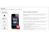 Bild: Wer unterwegs auf Last.fm zugreifen will, kann sich eine App herunterladen.