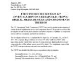 Bild: Die US-Handelskommission prüft eine Patentbeschwerde von Apple gegen Samsung.