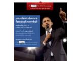 Bild: US-Präsident Barack Obama läutet auf Facebook den Wahlkampf ein.