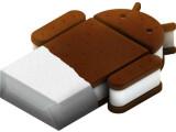 Bild: Viel mehr als ein Logo gab es von der neuen Android-Version Ice Cream Sandwich auf Googles Entwicklermesse I/O nicht zu sehen.