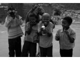 Bild: Viele Kinder müssen in kongolesischen Minen schuften.