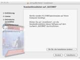 Bild: Virtual DJ 7.0 ist auch unter Mac OS X in wenigen Minuten installiert.
