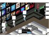 Bild: In einer virtuellen Bar kann man in Shaker Freunde und Unbekannte treffen