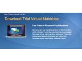 Bild: VMware bietet sogar Windows als virtuelle Maschine zum Download an.