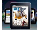 """Bild: Während immer mehr Verlage Apples Regelungen für den App Store kritisieren, ist """"The Daily"""" auf dem iPad inzwischen erschienen."""