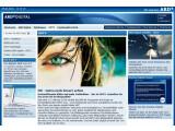 Bild: Auf einer Webseite informiert die ARD über HDTV.