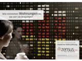 Bild: Werbeplakate für den Zensus 2011: Offenbar gibt es bei der aktuellen Volkszählung Probleme mit der Software zur Erfassung von Daten.