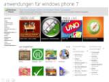 Bild: Der Windows Phone 7 Marketplace soll künftig auch über das Web zugänglich sein.
