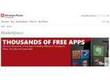 Bild: Der Windows Phone Web Marketplace steht ab sofort online zur Verfügung.