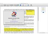 Bild: Der Wondershare PDF Editor kann nicht nur Notizen in ein PDF-Dokument einfügen.