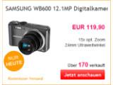 Bild: WOW des Tages: Bei eBay gibt es heute die Samsung WB600 als Angebot.