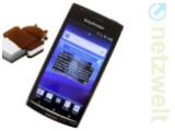 Bild: Das Xperia arc ist eines der Smartphones von Sony Ericsson, die ein Update auf Android 4.0 erhalten werden.