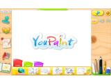 Bild: Das Zeichenprogramm YouPaint ist eher für Kinder als für Erwachsene gedacht.