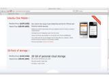 Bild: Zusätzlichen Speicher berechnet Ubuntu One in Paketen zu je 20 Gigabyte.