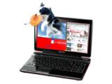 Bild: In zwei separaten Fenstern kann 3D und 2D beim Toshiba-Laptop gleichzeitig genutzt werden.