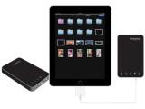 Bild: Zweite Generation: Die neuen iPad-Festplatten von Sanho bieten bis zu einem Terabyte Speicher.