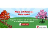 Bild: Zynga hat eine Spendenaktion für die Tsunami-Opfer in Japan gestartet.