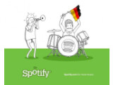 Bild: Am 13. März startet Spotify auch in Deutschland, dem 13. Land.