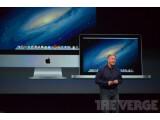 Bild: Phil Schiller präsentiert neue Mac-Modelle.