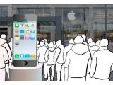 Bild: Am 17. August dürften sich wieder lange Schlangen vor den Apple Stores bilden - an diesem Tag könnte das iPhone 5 in den Handel kommen.