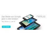 Bild: Ab sofort sind im Play Store das Nexus 4, das Nexus 10 sowie eine überarbeitete Version des Nexus 7 erhältlich.
