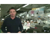 Bild: ABC Nightline-Moderator Bill Weir besuchte die Foxconn-Fabriken in China.