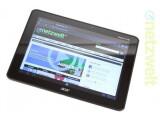 Bild: Das Acer Iconia Tab gleicht dem Schwestermodell Iconia Tab A510 wie ein Ei dem anderen. Der entscheidene Unterschied findet sich in der Display-Auflösung.