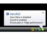 Bild: Aerofoil hilft Ihnen den Akku zu schonen.