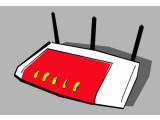 Bild: Alleskönner im Heimnetzwerk: FRITZ!Box-Router des Berliner Herstellers AVM.