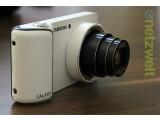 Bild: Die Android-Kamera Galaxy Camera von Samsung ist in der Redaktion eingetroffen.