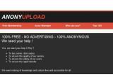 Bild: Anonyupload ist das mutmaßliche neue Filesharing-Portal der Hackergruppe Anonymous.