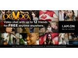 Bild: Die Anwendung ooVoo ermöglicht es bis zu zwölf Freunden im Video-Chat miteinander zu kommunizieren.