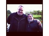 Bild: Apple-Mitbegründer Steve Wozniak besuchte Kim Dotcom in seiner Villa.