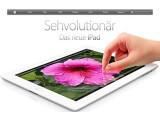 Bild: Apples neues iPad unterstützt auch den schnellen Mobilfunkstandard LTE, funkt in Deutschland aber noch auf der falschen Frequenz.
