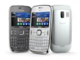Bild: Das Asha 302 von Nokia unterstützt Mail for Exchange.