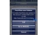 Bild: AT&T plant offenbar für Facetime-Gespräche über das Mobilfunknetz eine Extra-Gebühr zu erheben.