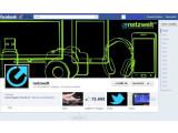 Bild: Auffällig am neuen Design für Facebook-Seiten ist das große Titelbild sowie der Zeitstahl an der rechten Seite.
