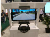 Bild: Augmented Reality im Auto. Pioneer präsentierte auf der CES ein AR-Navi.
