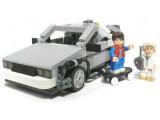 Bild: Bald wird es den bekannten DeLorean als Lego-Set geben.