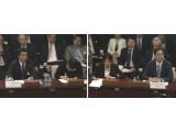 Bild: Bereits im September mussten sich ZTE und Huawei vor dem Ausschuss verantworten.