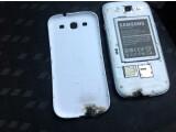 Bild: Das Beweisfoto: Beim Nutzer Dillo2k10 scheint das Galaxy S3 Feuer gefangen zu haben.