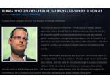 Bild: Bioware-Mitbegründer Ray Muzyka reagiert in einem offenen Brief auf die teils starke Kritik am Ende von Mass Effect 3.