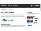 Bild: BitTorrent zertifiziert ab sofort kompatible Endgeräte.