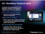 Bild: Boy Genius Report enthüllt RIMs Pläne für 2012 und 2013. In den internen Dokumenten findet sich beispielsweise eine neue Version des BlackBerry PlayBook.